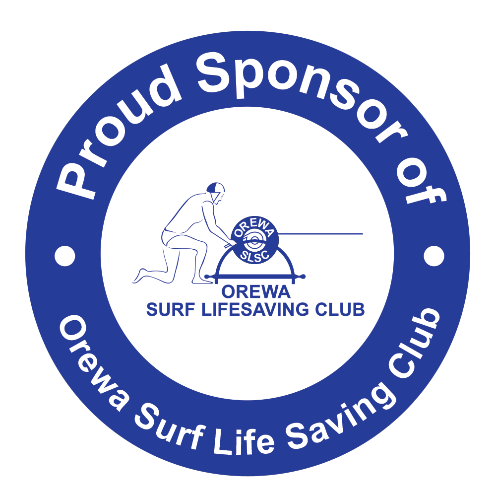 Orewa Life Saving Club Sponsor